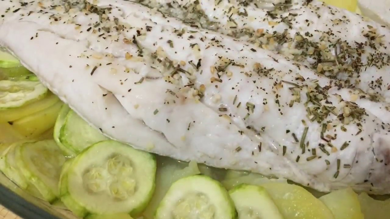 pescadilla al horno