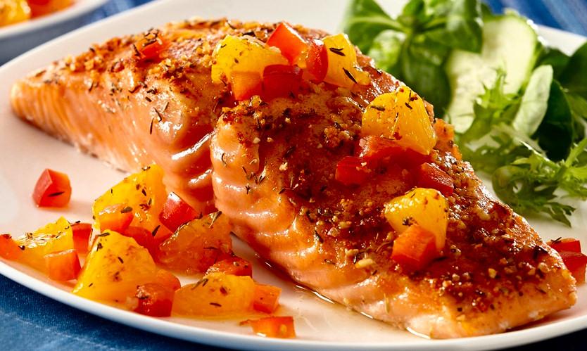 salmón a la ribereña